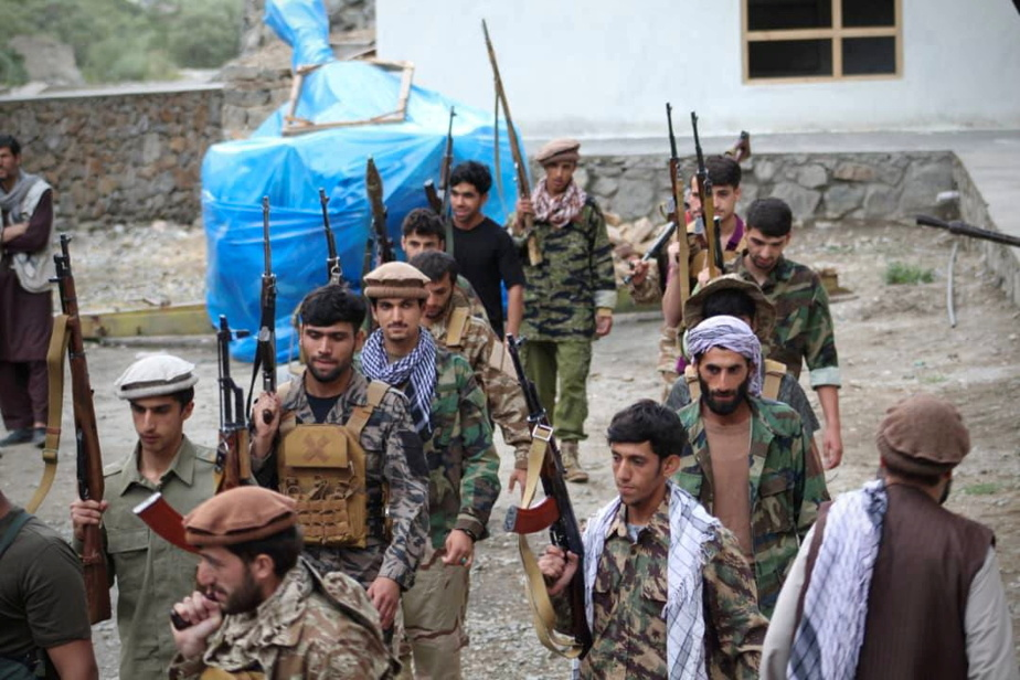 Afghanistan    The Taliban said they surrounded the Panchir fighters