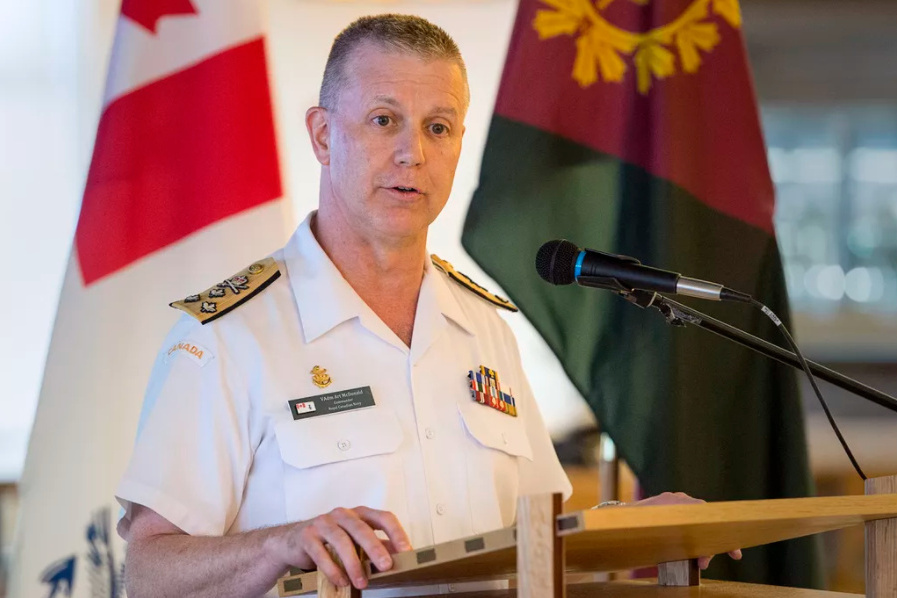 Alleged misconduct |  There are no charges against Admiral Art McDonald