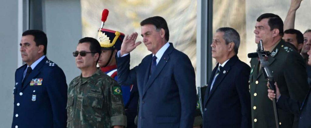 Brazil: At the Bay, Bolsonaro attends an unprecedented military parade