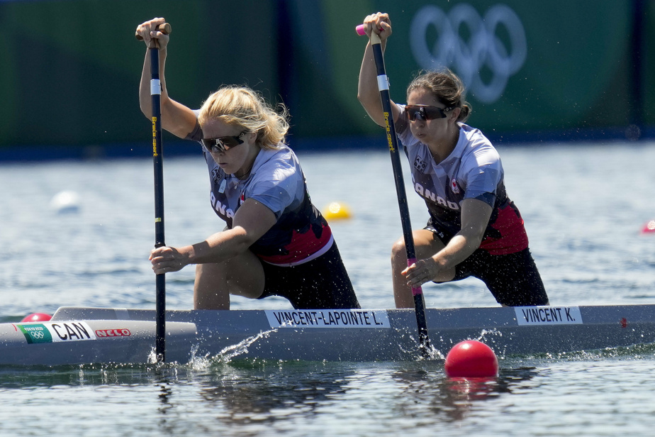 C2 500 m |  Lawrence Vincent-Lapoint and Katie Vincent qualify for the semi-finals