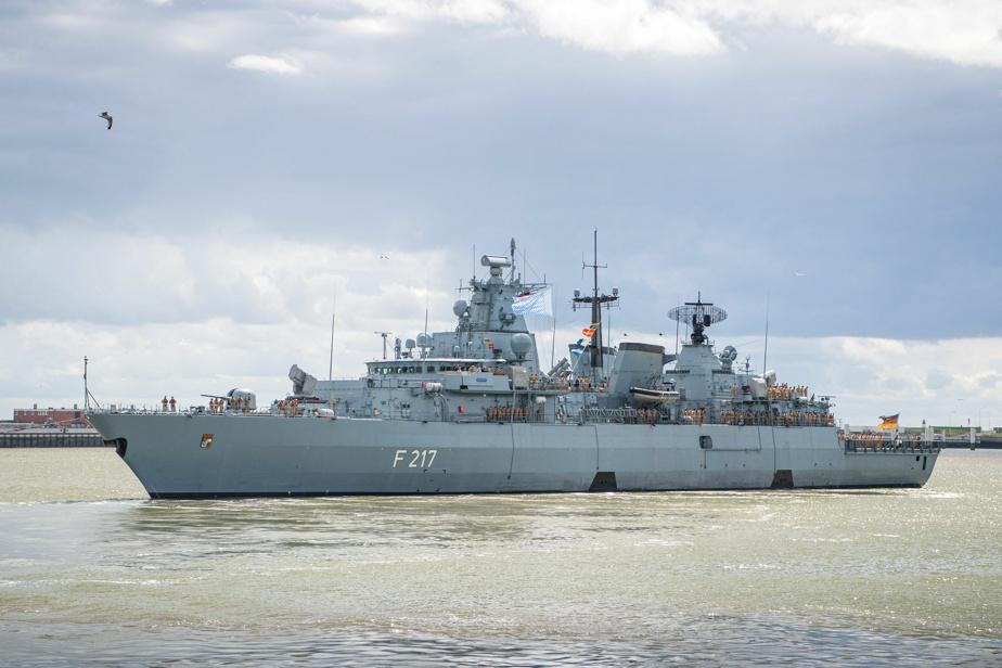 Germany sends frigate to China Sea