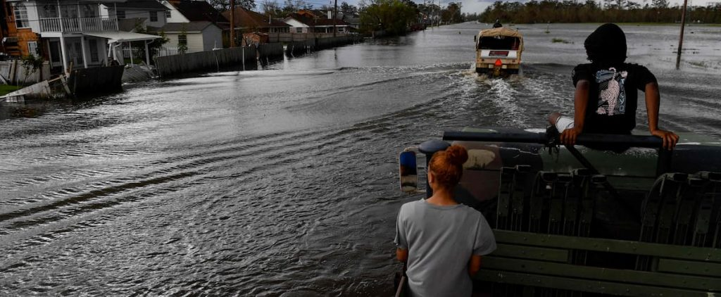 He was killed when an alligator attacked a street flooded by Hurricane Ida