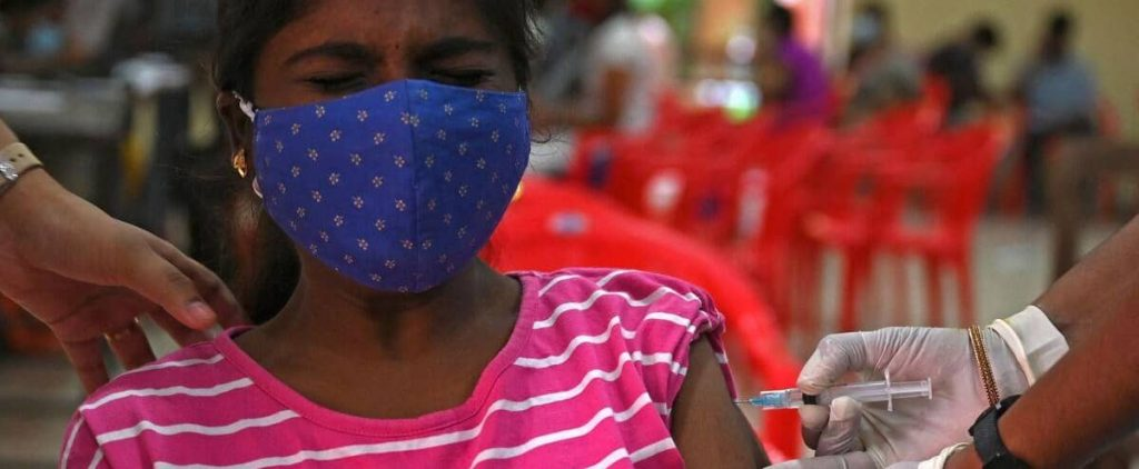In India, 10 million people were vaccinated in 24 hours