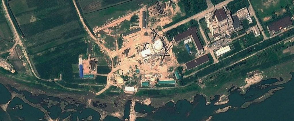 It looks like North Korea has restarted its nuclear reactor