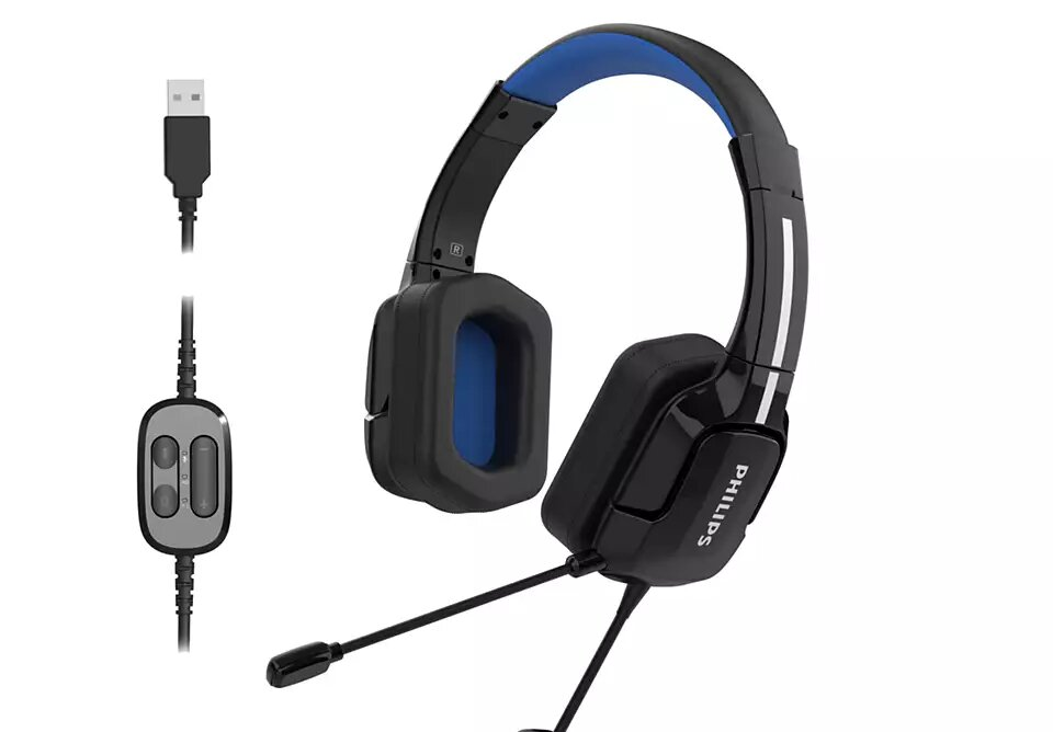 Image 2 : Philips lance ses deux premiers micro-casques gaming