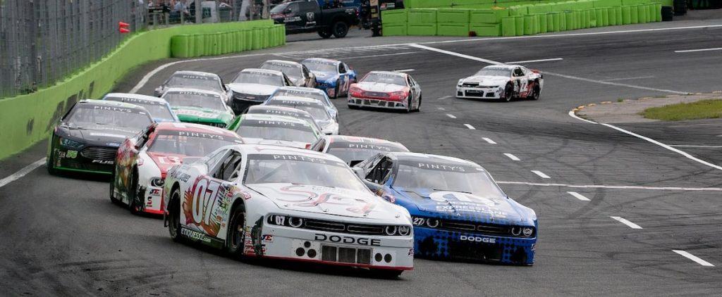 Rafael Lessard at the NASCAR Pinty Series at Wally-Junction