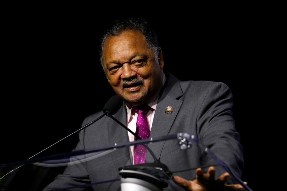 Reverend Jesse Jackson was hospitalized with COVID-19