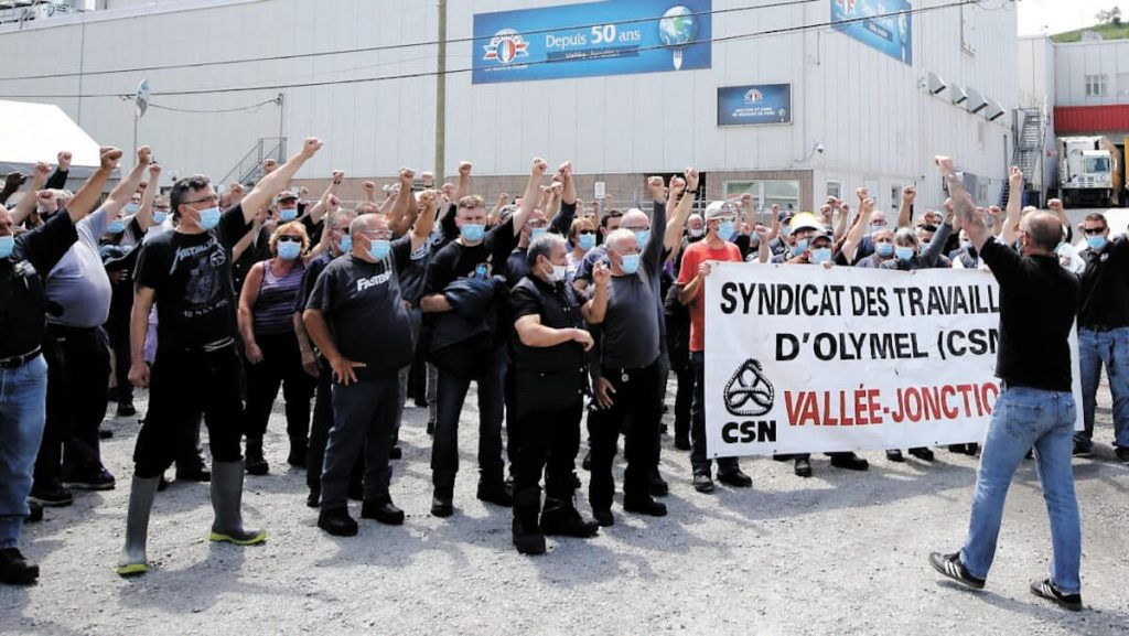 Strike at Olimel plant in Wally-Junction: Negotiations are still stalled