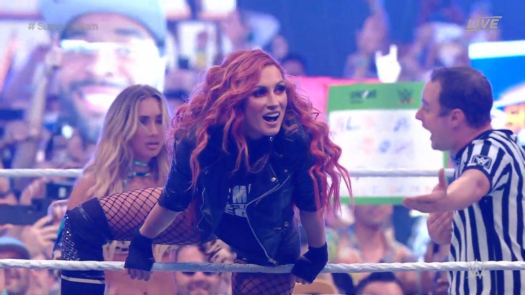 SummerSlam: Becky Lynch is back!