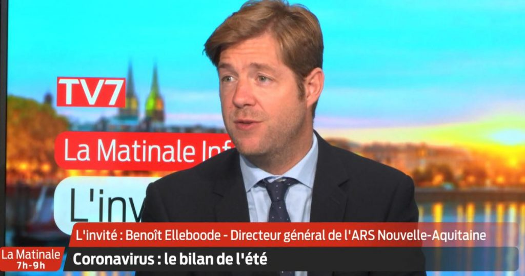 """TV7 video.  """"Thanks to the vaccine, we have eliminated garbage this summer,"""" according to ARS Director General Benoit Ellebood."""