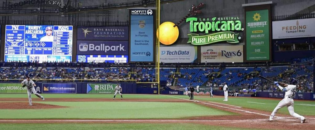 The rays look towards Tampa
