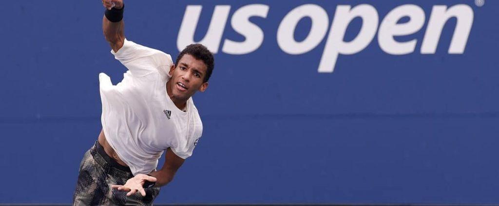 United States Open: Felix Agar-Aliassim wins long battle