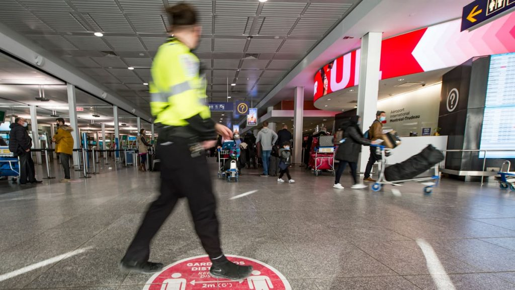 Foreign travelers can arrive in Canada by September 7th