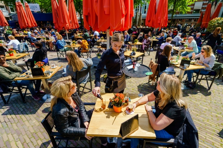 Cafe-terraces of the Netherlands |  Don't have a health passport?  No access to toilets