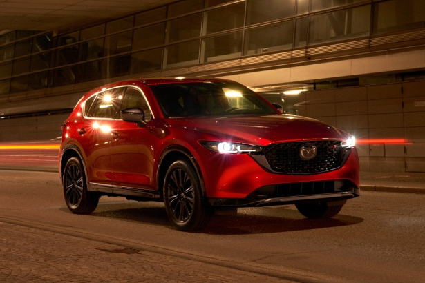 Mazda    Touch-ups for the Mazda CX-5 and standard all-wheel drive