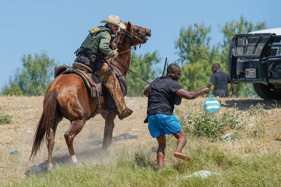 """Pictures of Haitians retreating at the border """"do not reflect"""" the United States"""