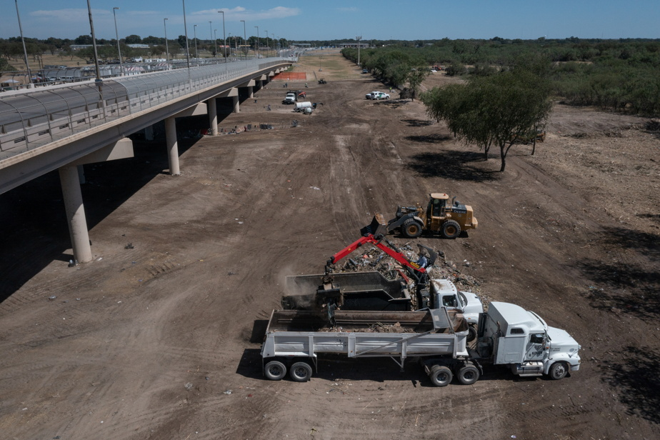 Mexican border crisis |  All immigrants left their camp in Texas