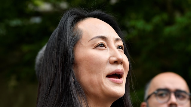 Meng Wanzhou was welcomed as a heroine in China