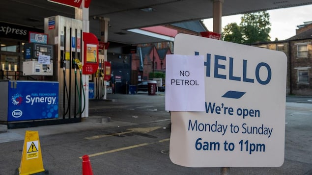 Gasoline shortages are exacerbated by 'panic purchases' in the UK