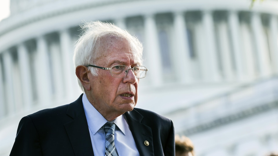 Bernie Saunders, chairman of the Senate Budget Committee and chief architect of the $ 3.5 trillion bill.