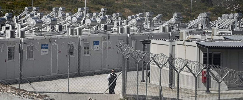 """Greece opens its first """"closed"""" camp in Samos"""