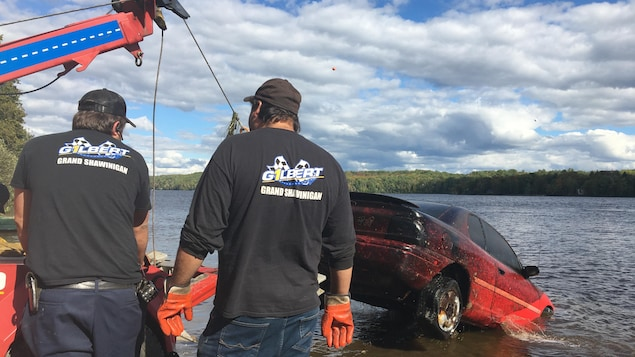 Melissa Blaise: Four vehicles pulled out of the waters of the Saint-Maurice River in Shavinigan