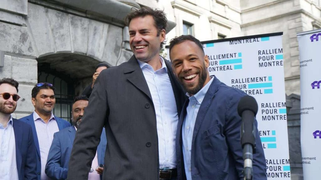 Municipal elections: Two candidates unite for Montreal mayor