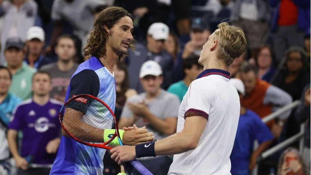 Shapovalov did not answer before Harris
