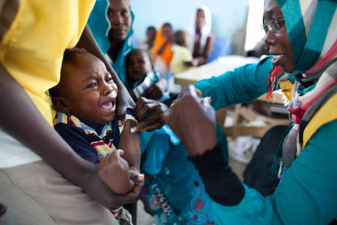 Meningitis vaccine in East Darfur, Sudan, October 2012.