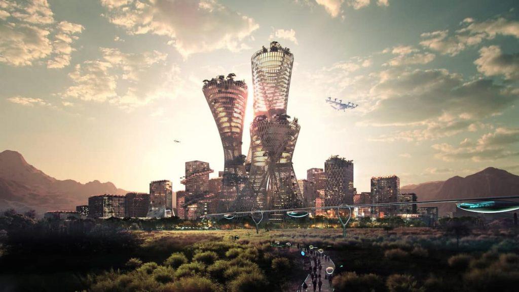 Towards a new $ 400 billion city in the American desert