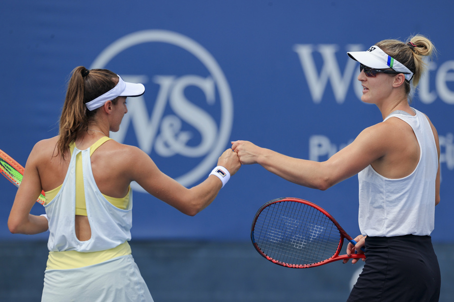 United States Open |  Fernandez and Dabrowski won the women's doubles