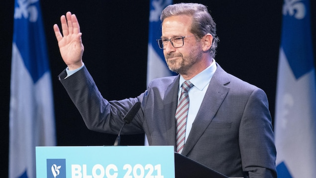 """""""We want to say: 'for it' ', abbreviated Yves-Franకోois Blanchett   Elections Canada 2021"""