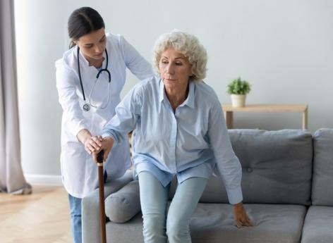 What are the methods to reduce gait disorders?