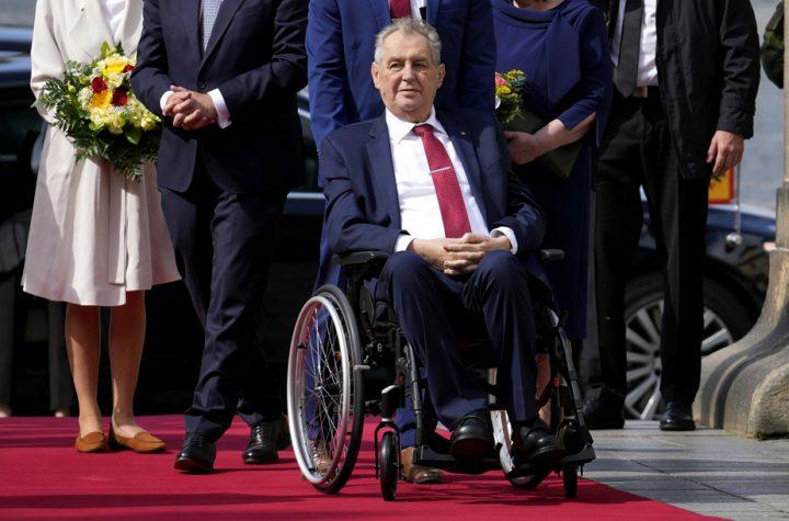 Czech President Zeman is in intensive care