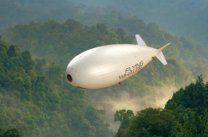 Airships-Cargo Ships |  Flying whales want to restart their projects in Quebec