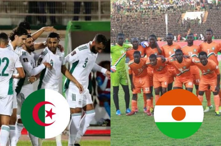 Algeria - Niger Return Match: Channels and sites broadcast the match