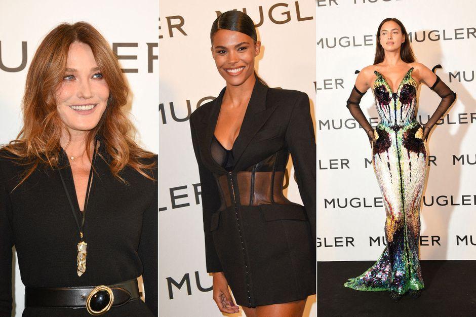 Carla Bruni, Tina Kunake and Irina Sheikh are 31st for Theory Mugler
