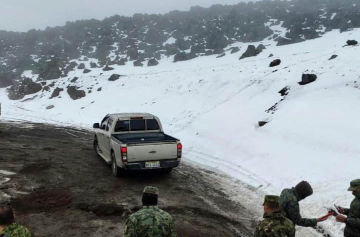 Four people have died in an avalanche on an ice-covered volcano in Ecuador