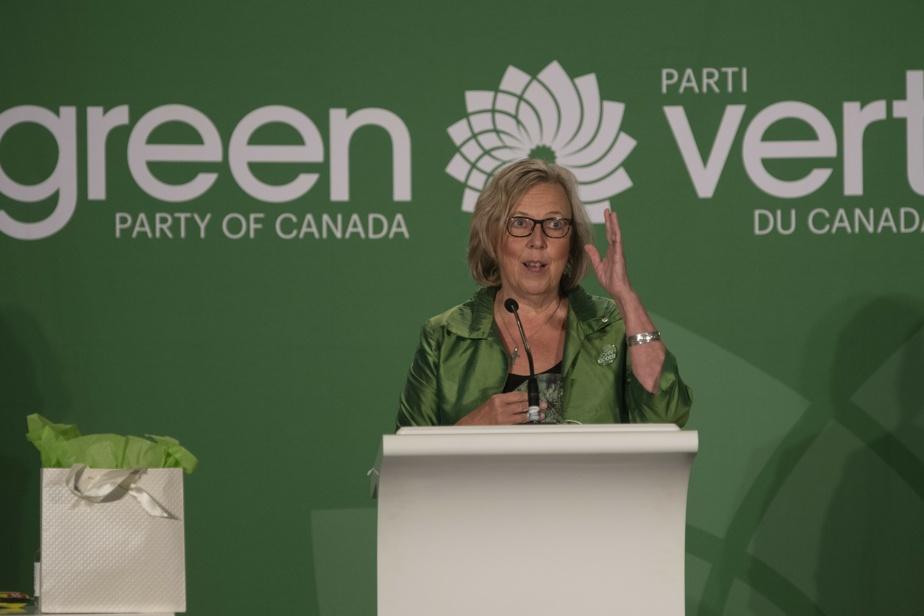 Green Party    Elizabeth May broke her silence