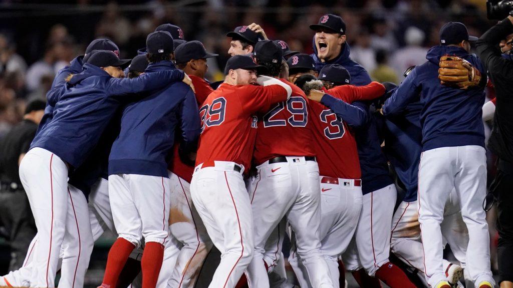 MLB: Boston Red Sox beat Yankees reach divisional playoffs