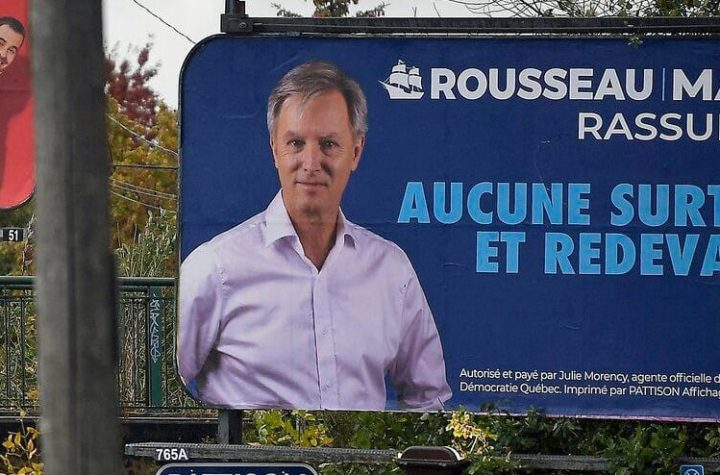 Municipal elections: Rousseau launches advertising campaign on large billboards