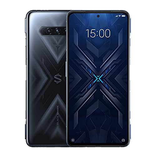"Black Shark4 [5G] - 6 + 128 GB smartphone, 6.67 ""screen, 144Hz, Snapdragon 870, 48 Mpx, triple cameras, 4500 mAh battery, LPDDR5, RAM + UFS3.1 storage, Black (global version)"