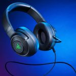 The Razr Kraken V3 offers its new glowing gaming headset